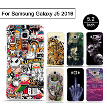 For Samsung Galaxy J5 2016 J510 Soft Silicon Phone Case Skin TPU Cover For Samsung Galaxy J5 (2016) J510F Luxury Back Case Shell(China)