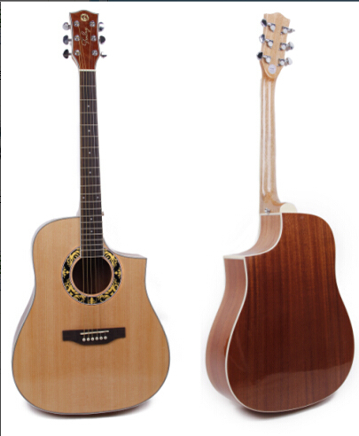 sharp-angled high quality 41inch acoustic guitar <br><br>Aliexpress