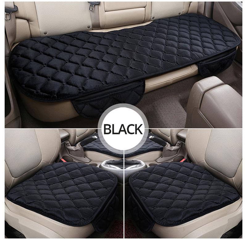 For KIA RIO Cerato Sportage QL Car Seat Cover Universal Auto Winter Soft Warm Seats Cushion Cars Chair Covers Protector General (12)