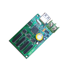 5pcs/Lot XY-UA/ HC-1(4xHub75) Full Color Gray Background Animation LED Control Card , RGB LED Display Small LED Control Card