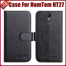 Buy Hot Sale! HomTom HT27 Case New Arrival 6 Colors High Flip Leather Protective Phone Cover HomTom HT27 Case for $5.82 in AliExpress store