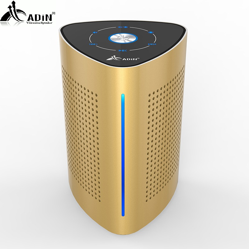1 ADIN 36W Bluetooth Speakers High Power Vibration Speaker Metal Three Units NFC Stereo 3D Surround Touch Computer Phone Speaker (4)