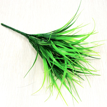 27CM Artificial Green Grass Simulation Plastic Plants For Home Office Desk Decoration