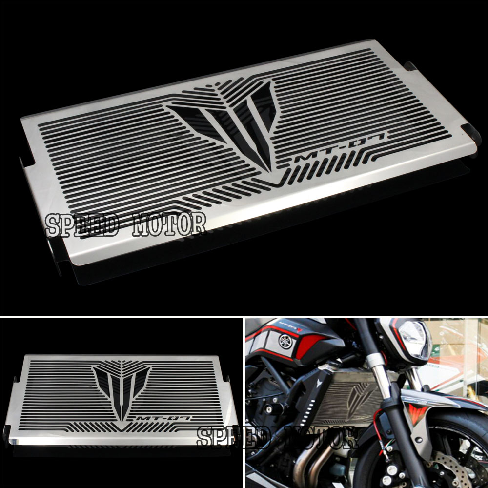 Motorcycle Radiator Grille Guard Cover Protector For YAMAHA MT07 MT-07 mt 07 2014 2015 2017 Free shipping<br><br>Aliexpress
