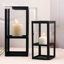 Christmas Angle Candle Holder Molds Candlestick Made Of Metal Lantern Candle Tripod Candeliere Artesanato Candlestick DDX134