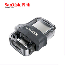 Original Sandisk SDDD3 Extreme high speed 150M/S PenDrives 32GB OTG USB3.0 128GB Dual OTG USB Flash Drive 64GB Pen Drives 16GB