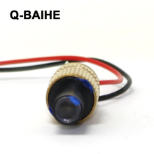 INDUSTRIAL/LAB 3V DC 532nm Green Laser 50mW Diode Module with cable(China)