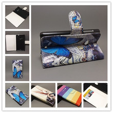 New Butterfly Flower Flag Designer Wallet Flip Stand Book Cover Case For Nokia Lumia 535 Microsoft Lumia 535 freeshipping
