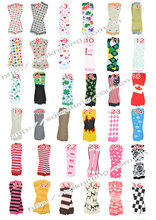 new update free shipping/baby leg warmers/arm warmers/wholesale legging/cotton leg warmers children leg warmers 24pairs/lot(China)