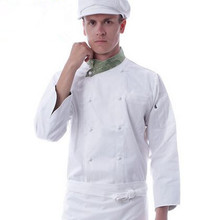 white chef jacket executive chef coats chef uniform chef clothing cook uniforms cook tops(China)
