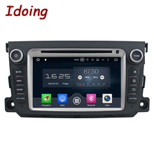 Idoing 8Core 2Din 2G+32G Android 6.0/7.1 For Mercedes/Benz/SMART Car DVD Player GPS Navigation Steering Wheel WIFI Fast Boot(China)
