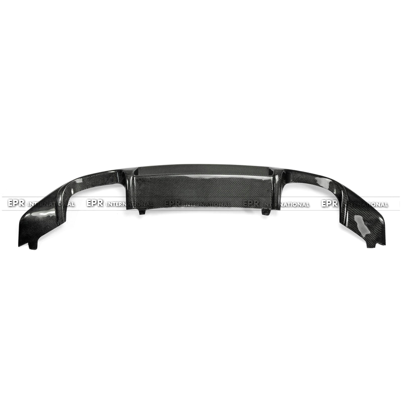 VW Scirocco (Facelifted) OEM Rear DIffuser CF(3)_1