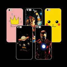 "Ample Colorful Painted Soft Silicone Cell Phone Cases For Blackview Ultra A6 Plus 5.5"" Cartoon Case Cover For Blackview A6 Plus"