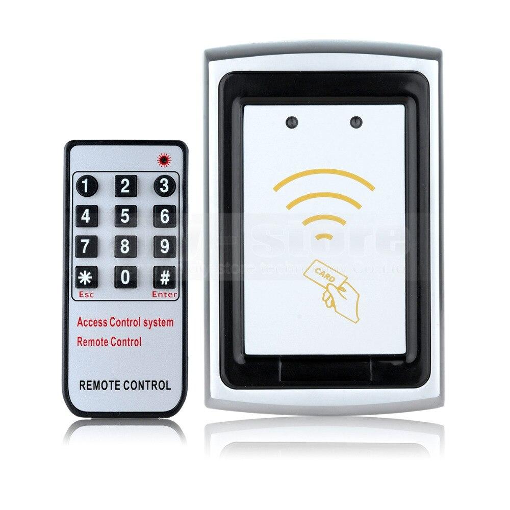 DIYSECUR Remote Control Metal Case 125KHz RFID Reader Password Accesss Controller K75EM<br>
