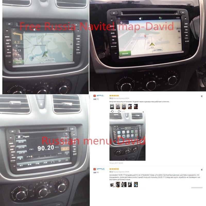 Capacitive screen GPS Navigator Radio For Dacia Renault Duster Logan Sandero Car DVD Central Cassette Player free shipping