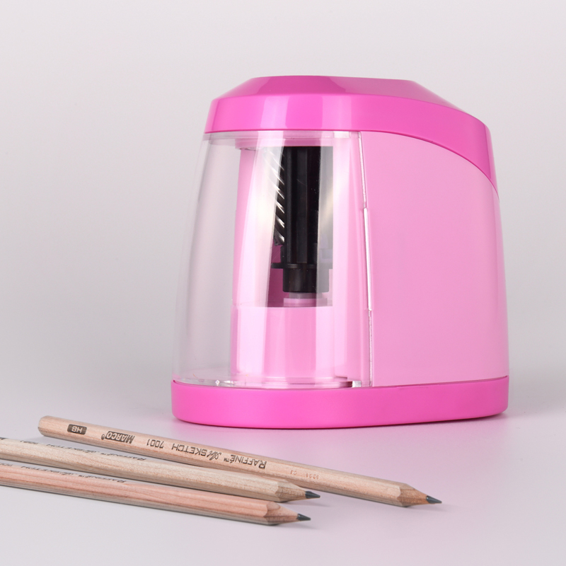 2018 Limited New Material ABS Plastic Electronic Pencil for Sharpener Machine Sliced Pencil Sharpeners <br>