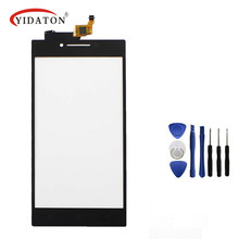 "Original Front Touch Screen Digitizer Outer Glass Lens For Lenovo P70 P70T P70-T 5"" Panel above phone LCD Free Shipping"