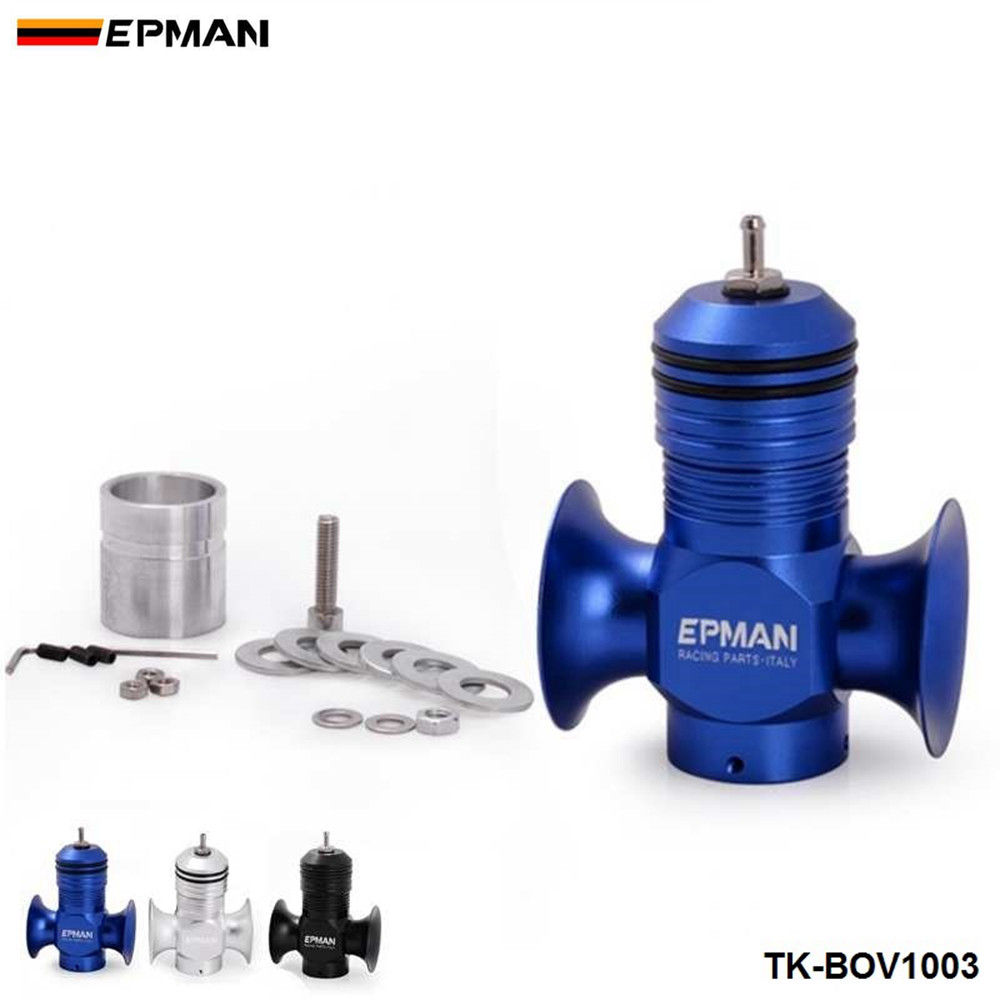 EPMAN Sport Universal Turbo Diesel Dump Blow Off Valve BOV For Ford For Focus RS Mark2 All Turbo Diesel Car TK-BOV1003
