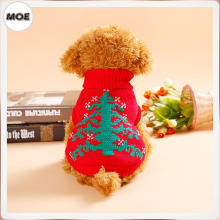 2016 Six Pattern Christmas Reindeer Tree Sweater Costume Clothes For Pet Dog Cat Wear(Cambodia)