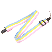 Adjustable camera strap string string for fujifilm instax mini 8 7 s crystal shell digital camera accessories colorful(China)