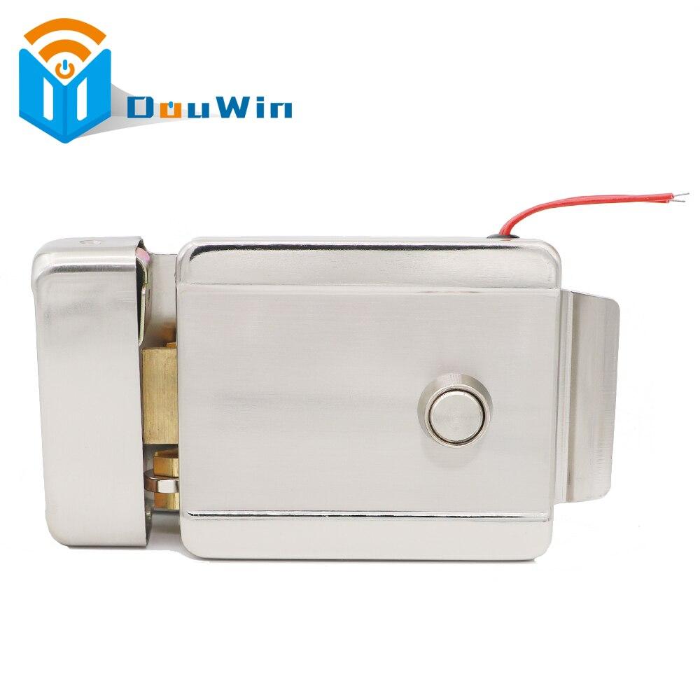 Metal Electric Door Lock Secure Electric metallic Lock Electronic Door Lock for Video Intercom Doorbell Door Access Control<br>