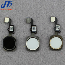 "Free shipping For iphone 6g 4.7"" 6 plus 5.5""10pcs/lot Home Button with flex cable assembly replacement parts"