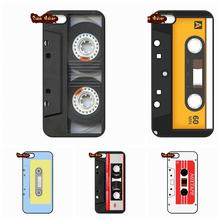 Side Old Style 3310 Tape Cassette Phone Case Cover For iPhone 4 4S 5 5C SE 6 6S 7 Plus Galaxy J5 A5 A3 S5 S7 S6 Edge