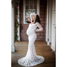 Summer Women Maternity Dresses Women Clothing Maternity Fashion Lace Wedding Birthday Party Mother Clothes Dress for Pregnant(China)