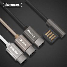 REMAX type c USB c Data Cable Portable 90 Degree Dual USB C Durable Charger Cable for Nexus 5X 6P HTC 10 LG G5 USB-C Charger