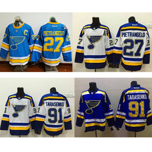Men's 91# Vladimir Tarasenko hockey jersey 27# Alex Pietrangelo cheap  100% stitched 2017 Winter Classic Premier Jerseys
