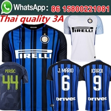 Free shipping  football jersey 2017 2018 16 man Inters milan best quality camisetas de futbol Soccer jersey