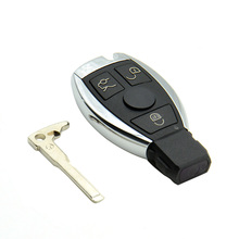 Best 3 Buttons Smart Remote Key for Mercedes&fFor Benz NEC Chip 433MHz Supports MB Car Models After Year 2000