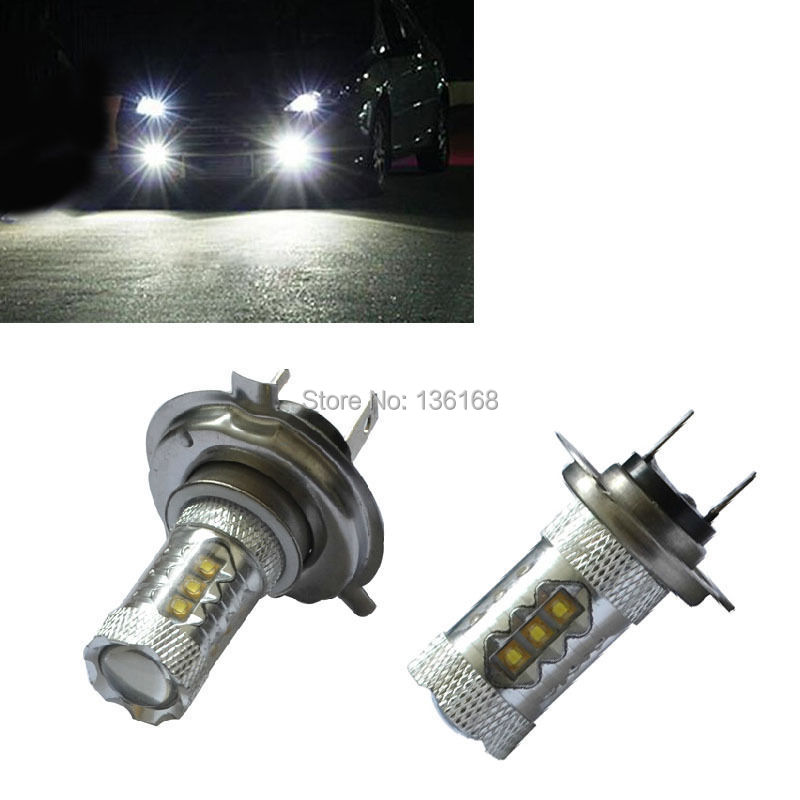 Canbus H7 477 12V 80W Sockel PX26d Powerful Chip with Len LED Car Fog Light Headlight, Auto Daytime Running Bulb Free Shipping<br><br>Aliexpress