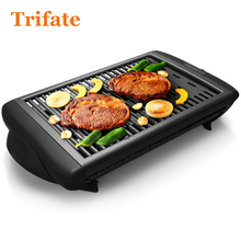 4500 Household Barbecue Grill Electric Hotplate Smokeless Grilled Meat Pan Electric Grill Electric Griddle