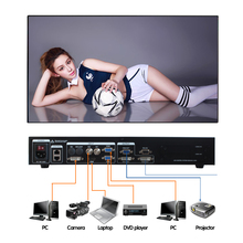 small pixels video display function digital billboard usage led video wall video processor scaler mvp508(China)