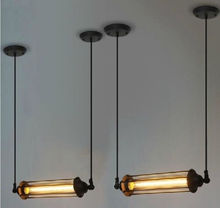 Free Shipping Industrial Vintage Steampunk RH Loft Metal Pendant Light Chandelier Tube Lamp