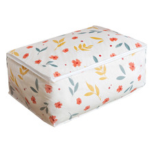 Printing Quilt Blanket Storage Bag Clothes Casual Closet Organizer Suit Case Bedding Pouch Wardrobe Accessories Supplies Lot(China)
