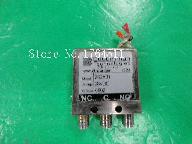 [LAN] DUCOMMUN 2S2A31 DC-18GHZ 28V SMA RF coaxial switch<br><br>Aliexpress