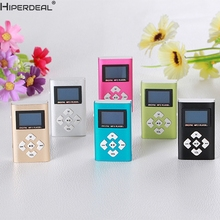 HIPERDEAL Mp3 Player USB Mini MP3 Player LCD Screen Support 8GB Micro SD TF Card(China)
