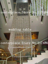 High quality Crystal table top chandelier centerpieces for weddings or party without the table stand