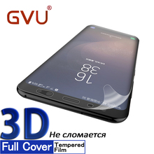 Buy GVU 3D Soft Film Samsung Galaxy S8 S9 Film HD Full Coverage Screen Protector Samsung S9 S8 Plus Note8 Glass Film for $1.42 in AliExpress store