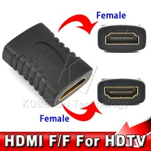 HDMI Female to HDMI Female Connector Extender HDMI Cable Cord Extension Adapter Converter for PC DVD 1080P HDTV