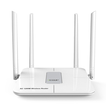 EDUP 5ghz wifi router 1200mbps Wlan WiFi Repeater Wireless 802.11ac high power wifi range extender 4*6dbi antenna wifi amplifier(China)