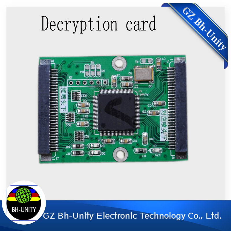 Top quality dx5 18600 print head decryption card for allwin versacamm leopard bemajet galaxy outdoor printer machine <br><br>Aliexpress