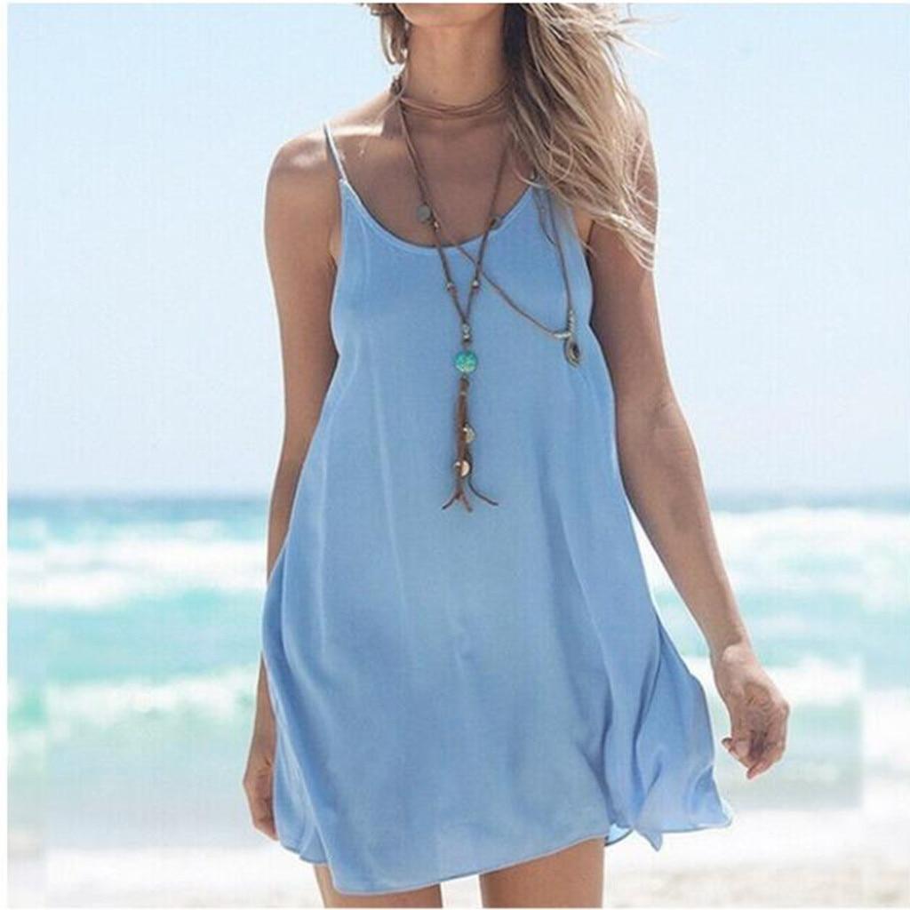 Простое Платье На Лямках