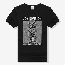 Joy Division T Shirt Unknown Pleasures Rock Band T-shirt Men Women Clothing Short Sleeve Tee Summer Top Rock N Roll Tshirt