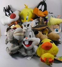 "IN HAND  NEW ORIGINAL Looney Tunes Bugs Bunny friends Girl Bunny daffy cat 9"" 23cm Stuffed animal~collection soft plush"