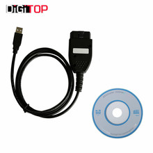 KM TOOL EDC V1.5 For Opel Auto Diagnostic Data Cable Read/Write KM Models 1998-2009 Can-bus System