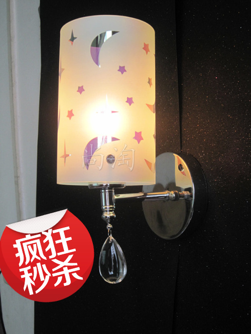 Brief fashion wall lamp ofhead wall bedroom lamp multithread bedside lamps study light<br><br>Aliexpress