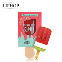 LIPHOP ICE CREAM Long-Lasting Lip Tint 5 Colors Liquid Lipstick Batom Rouge A Levres Labial Matte Lip Gloss Sexy Tattoo Cosmetic(China)